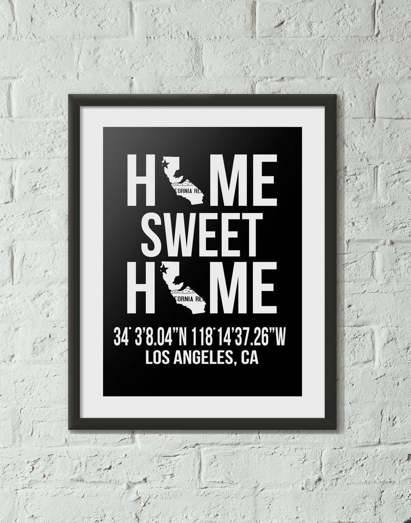 Print, Framed Print, and Canvas | California Traditional