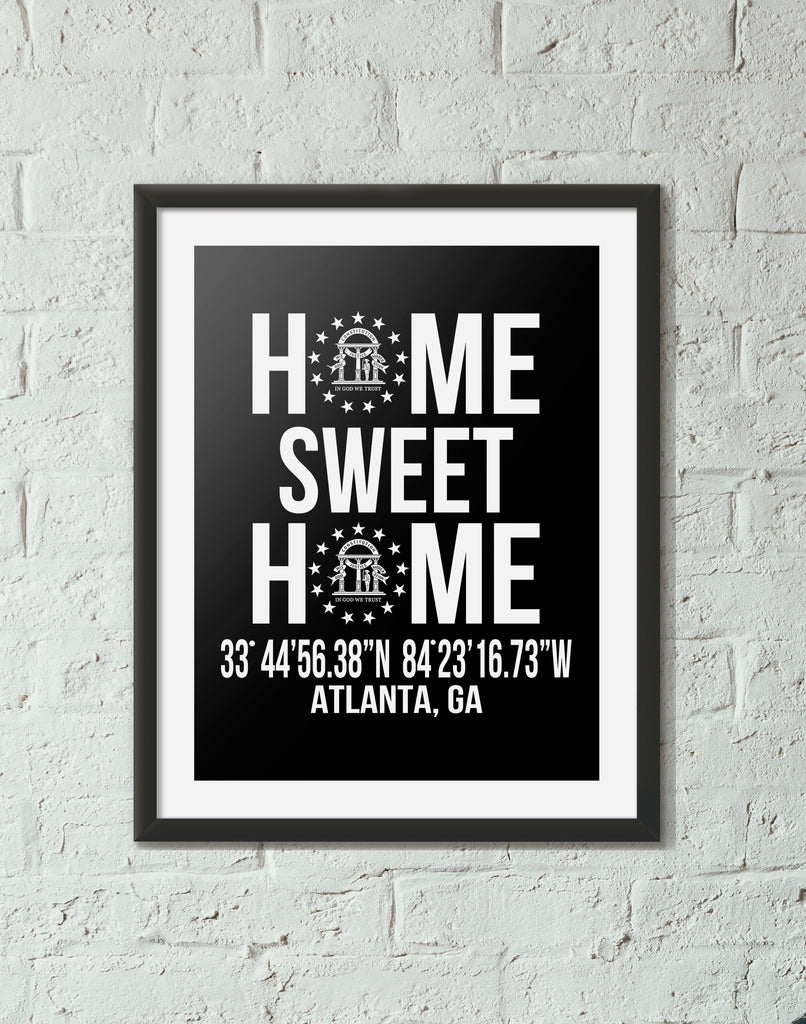 Print, Framed Print, and Canvas | Georgia Traditional