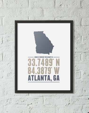 Georgia Home is Where the Heart is