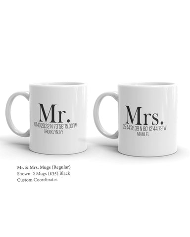 Mr. & Mrs. Mug (Set of 2)