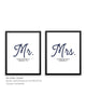 Mr. & Mrs. (Set of 2)