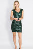 Amy Sequin Fitted Mini Dress - Ann Et Craig