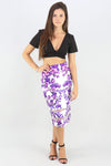 In Full Bloom Midi Skirt - Ann Et Craig