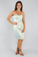 Load image into Gallery viewer, Kahelea Strapless Jacquard Midi Dress - Ann Et Craig