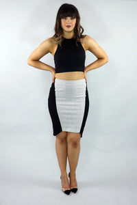 Burst Your Bubble Crop Top - Ann Et Craig