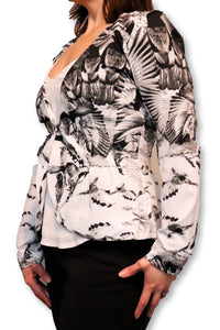 Birds Of Paradise Blazer Jacket - Ann Et Craig