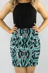 Tribal Treasure Contrast Dress - Ann Et Craig