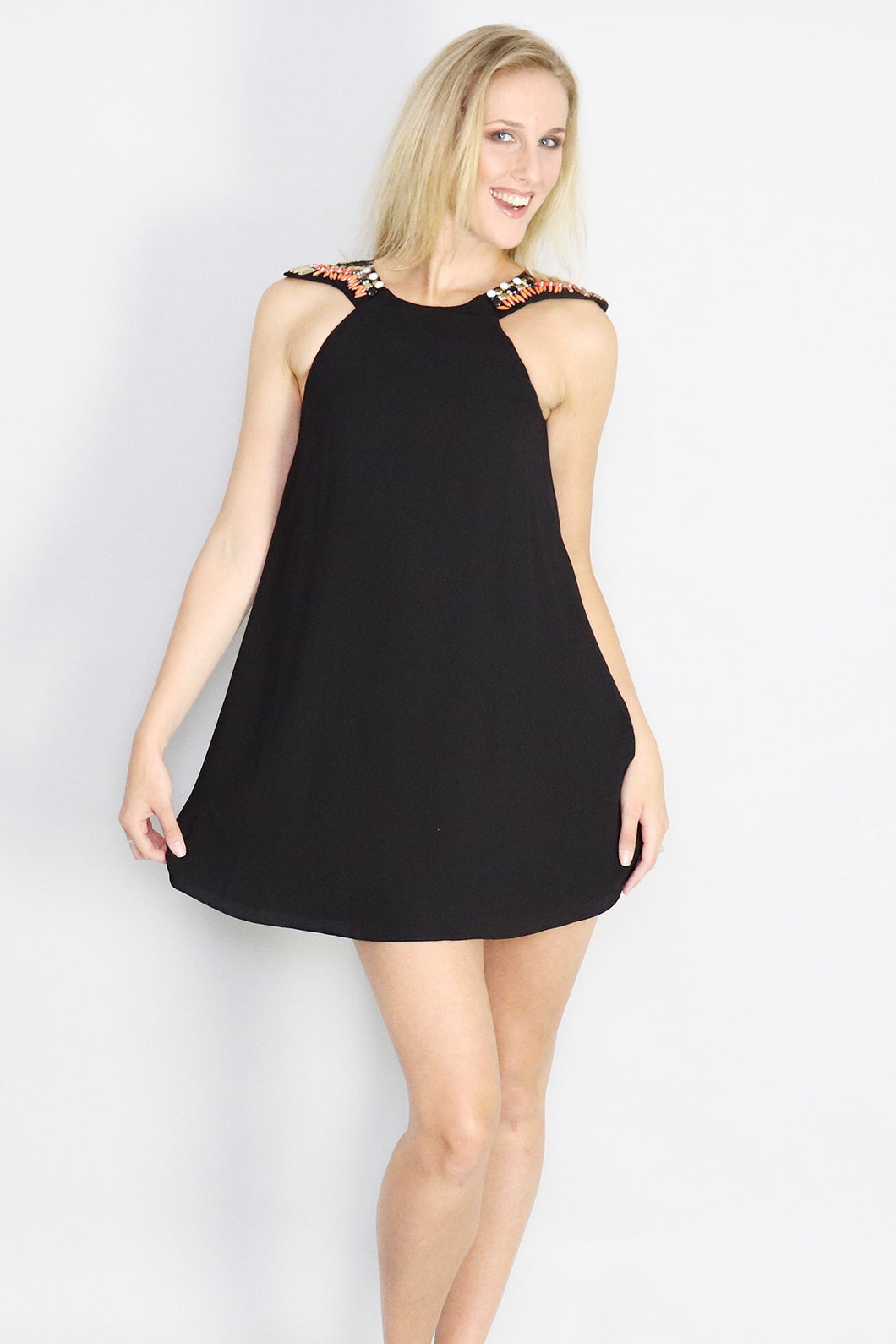 Crystallised Tunic Dress - Ann Et Craig