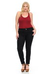 M.Michel Women's Jeans - Plus Size - High Waist - Ann Et Craig