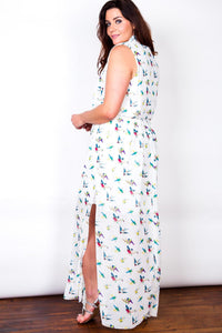 Rylan Wrap Maxi Dress - Ann Et Craig