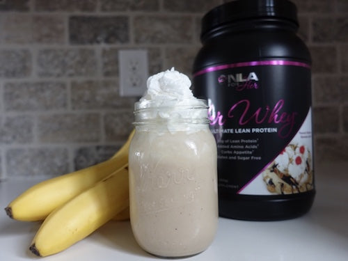 Peanut Butter Banana Split Smoothie