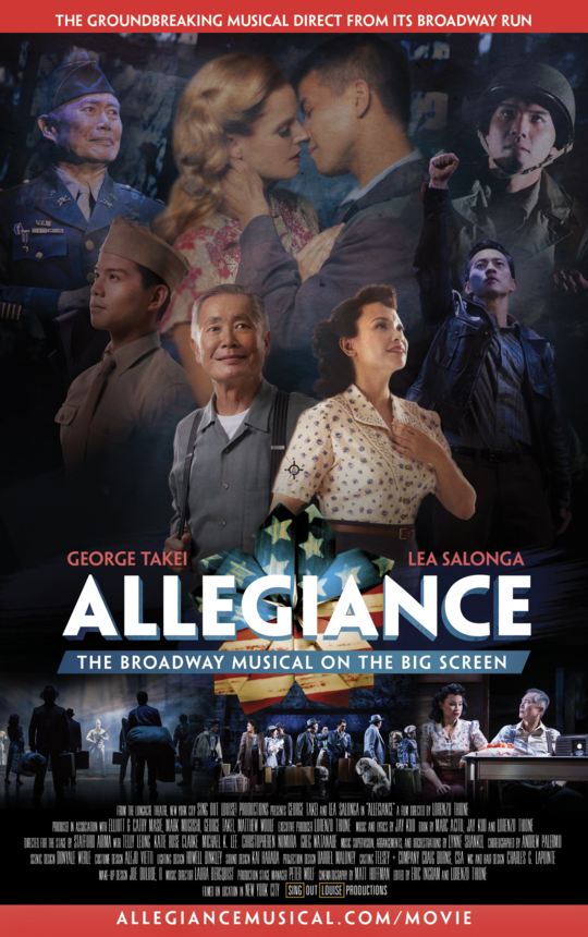 Allegiance Limited Collector's Edition DVD Box Set + Original Broadway Cast Recording Digital Download