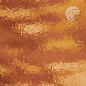 Medium Amber Rough Rolled Fusible (CR)