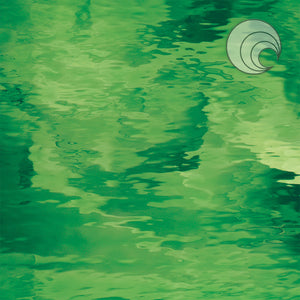 Light Green Waterglass® Fusible (CR)