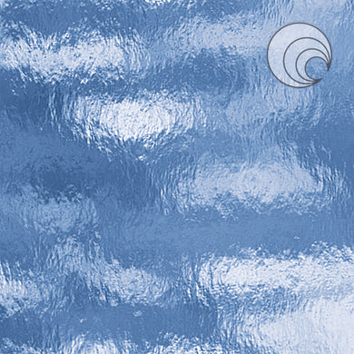 Pale Blue Rough Rolled Fusible (CR)