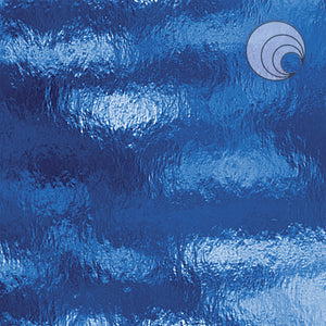 Medium Blue Rough Rolled Fusible (CR)