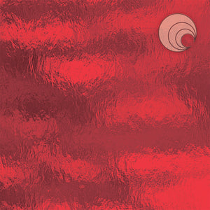 Cherry Red Rough Rolled Fusible (CR)
