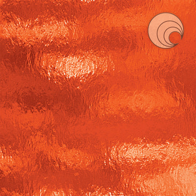 Orange Rough Rolled Fusible (CR)