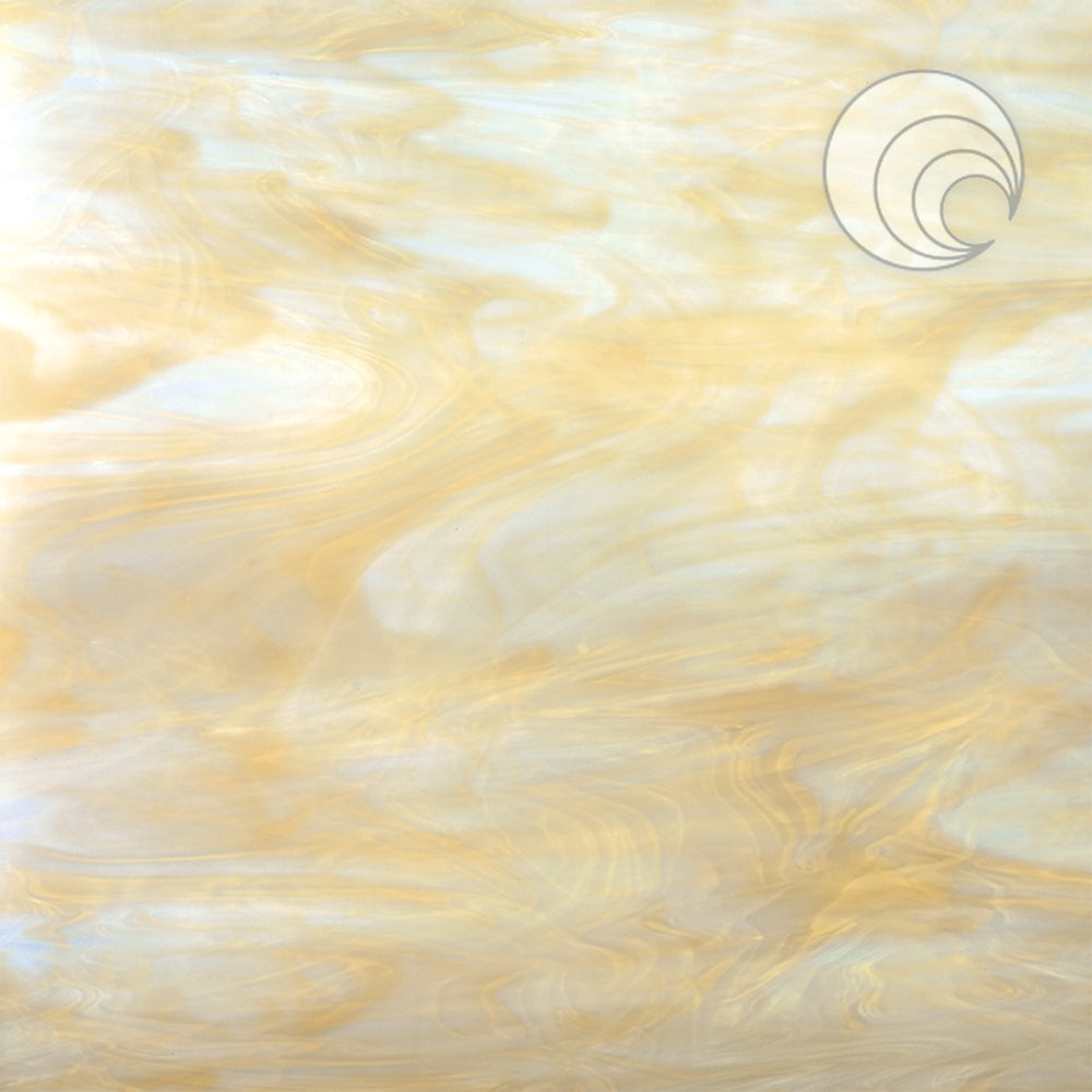 White/Pale Amber Smooth Fusible (CR)