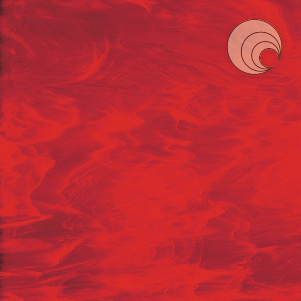 Red/White, Wispy Smooth Fusible (CR)