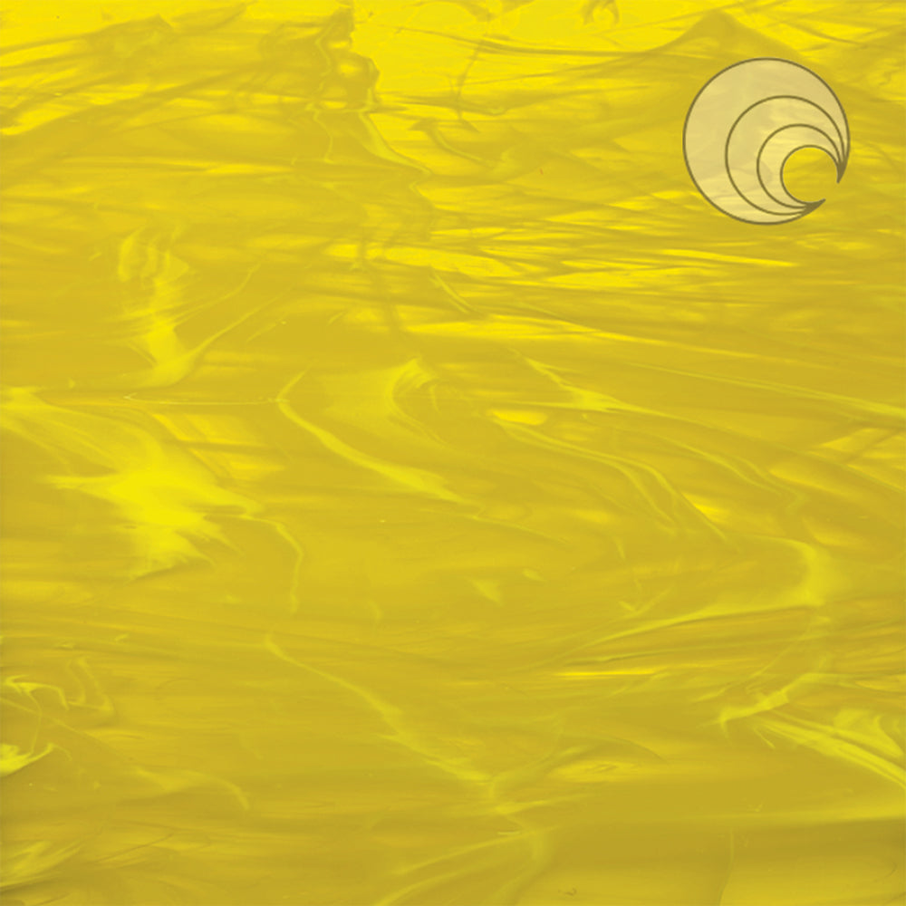 Yellow/White, Wispy Smooth Fusible (CR)