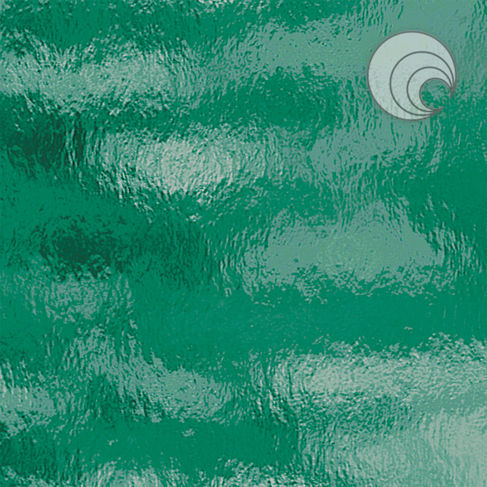 Teal Green Rough Rolled Fusible (CR)