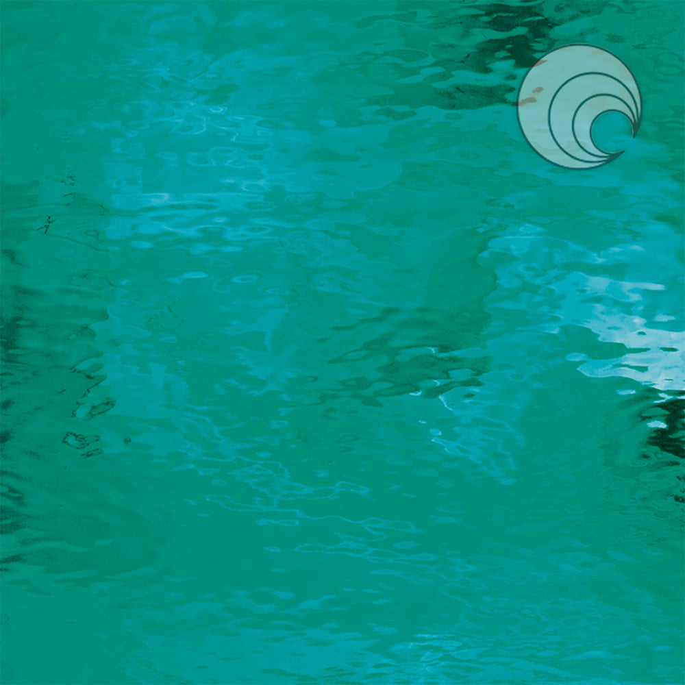 Teal Green Waterglass® Fusible (CR)