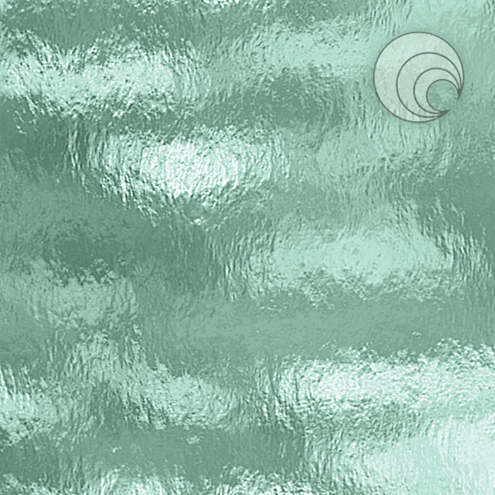 Sea Green Rough Rolled Fusible (CR)