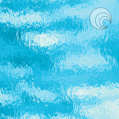 Sky Blue Rough Rolled Fusible (CR)
