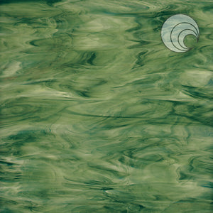 Forest Green Opal Smooth Fusible (CR)
