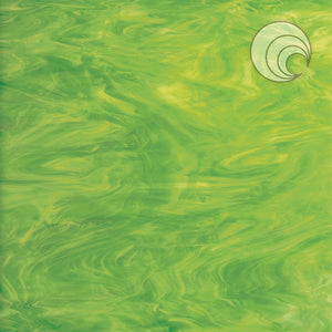 Lime Green/White Smooth Fusible (CR)