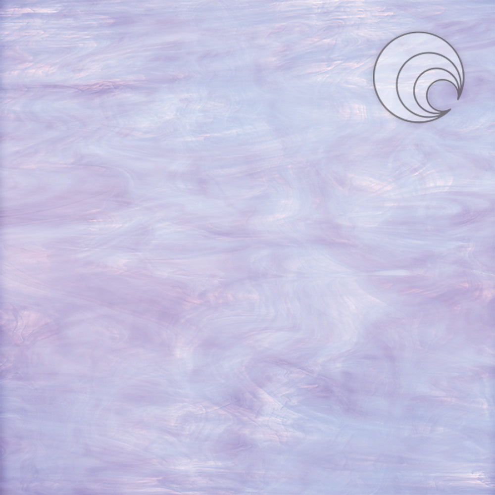Pale Lavender/White Smooth Fusible (CR)
