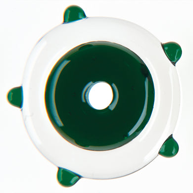 Dark Green Transparent Rods (6mm)
