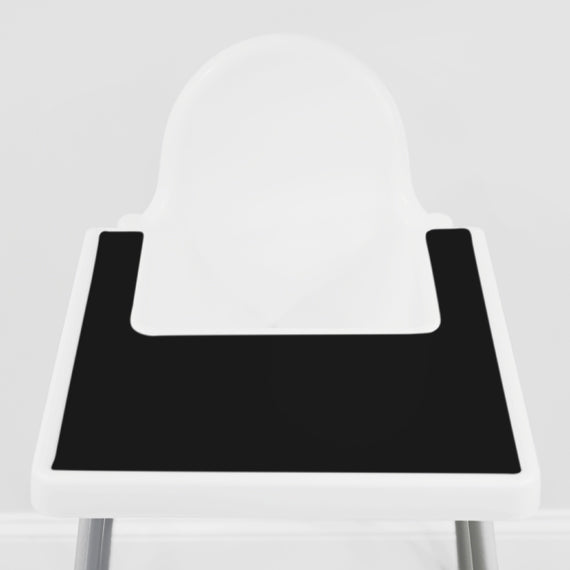Cinder Black IKEA Highchair Placemat