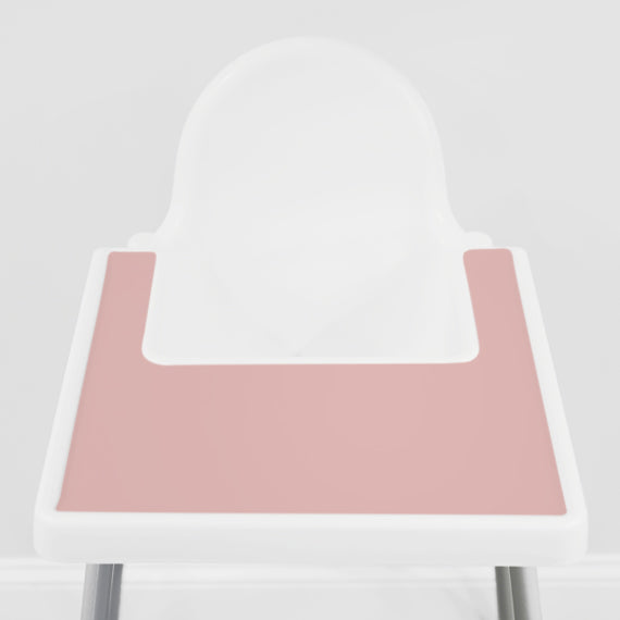 Dusty Rose IKEA Highchair Placemat