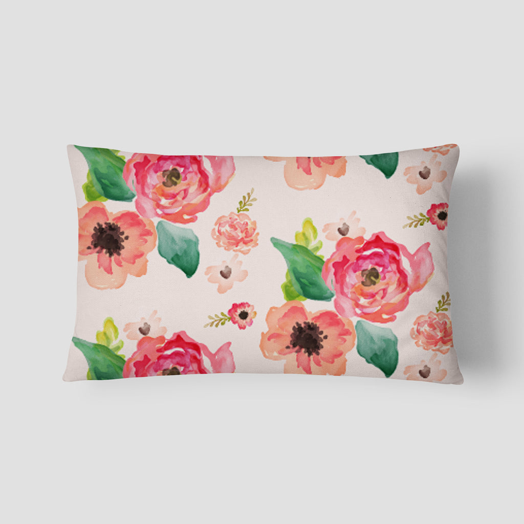Floral Dreams Lumbar Pillow