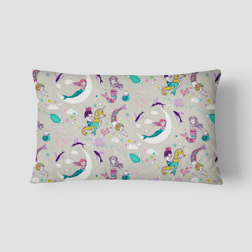 Mermaid Lullaby Lumbar Pillow