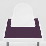 Limited Edition Organic Eggplant IKEA Highchair Placemat