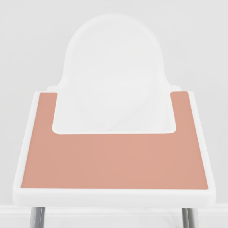 Pale Terracotta IKEA Highchair Placemat