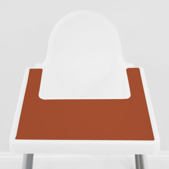 Sunbaked Rust IKEA Highchair Placemat