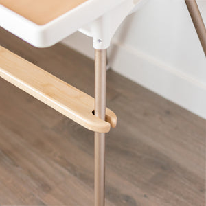 Bamboo Adjustable Highchair Footrest