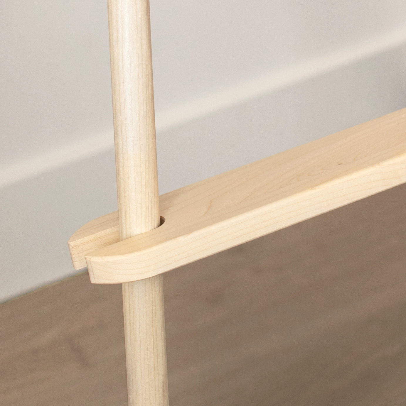 Maple Adjustable Highchair Footrest