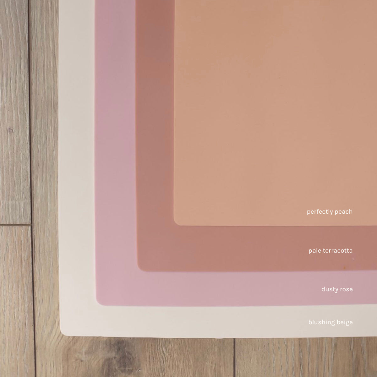 Limited Edition Perfectly Peach IKEA Highchair Placemat