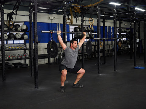 stability overhead squat for crossfit and strength training