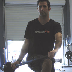 Sledgehammer Paddle Lunges