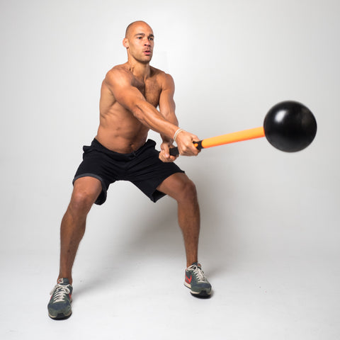 mostfit Core Hammer Fitness Sledgehammer Workout Without The Tire