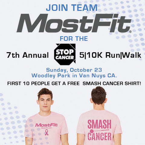 Join mostfit at the 7th annual Stop Cancer run/walk
