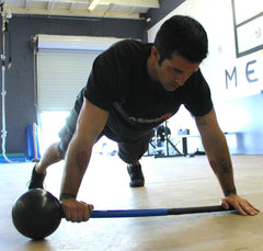 Sledgehammer Burpee Slams