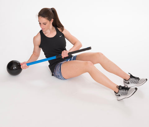 Core and Shoulder exercises with the MostFit Core Hammer
