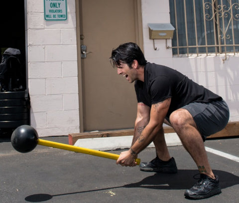 Sledgehammer Workouts Without A Tire - MostFit Core Hammer